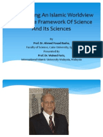 Constructing an Islamic Worldview Within the Framework Of