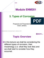 3 Types of Corrosion