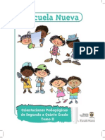 Manual de Implementacion Escuela Nueva Tomo 2