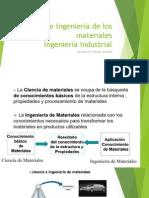 Ciencia e Ingenier a de Los Materiales