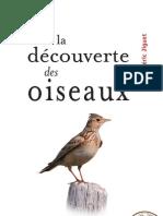 A La Decouverte Des Oiseaux