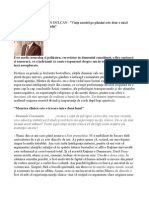 Dumitru Constantin Dulcan - Interviu Din Formula as - Nr 1067