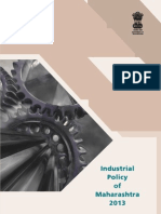 Industrial Policy of Maharashtra 2013