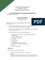 Instrucciones elaboración revista