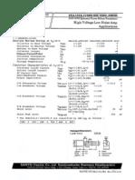 Transistor 2SA1016 SANYO Datasheet