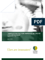 Ozan, H. (2009) Innovation Factors Improved by Online Collaboration