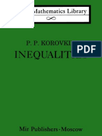 Korovkin Inequalities LML
