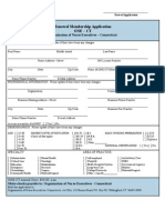 Renewal Membership Application (rev. 12/07)