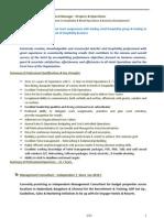 Sample CV FNS Deepak