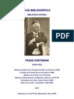 Phileas Biografia de Franz Hartmann