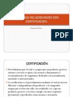 Definiciones Certificacion