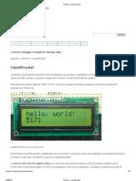 Arduino - LiquidCrystal.pdf