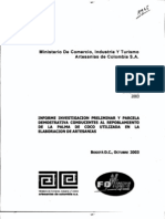 Artesanias Colombia Cesteria Guapi Cauca
