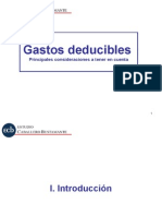 Gastos Deducibles (1)