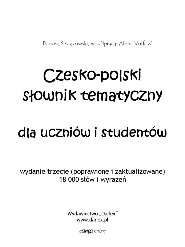 35eadb1878af52 Slownik Tematyczny Cz Pl 2009