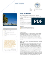City Miami Microfocus