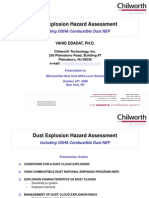 Combustible Dust - Dr. Ebadat, Chilworth