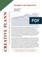 2013 08 25 Market Divergence