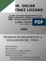 Extra Clase Torax - Radiologia - Dr. Martinez
