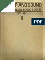 Libro de Partituras Para Piano