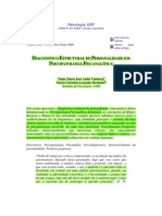 Vaisberg&Machado 2000 Diagnostico Estrutural de Personalidade