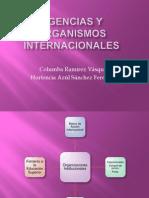 Agencias y Organismos Internacionales