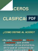 ACEROS-CLASIFICACION