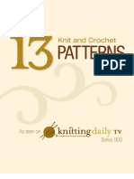KDTV 900 Knit and Crochet Patterns