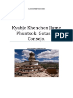 Khenchen Jigme Phuntsok Gotas de Consejo desde Mi Corazón