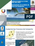16. Gestión para el Saneamiento de la Bahía de San Francisco de Campeche, David Montcouquiol
