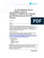 Windows and Windows Server Compatibility Cookbook