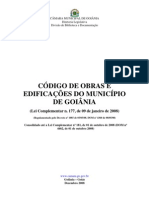 Codigo de Obras e Edificacoes - Publicacao 03-12-2008
