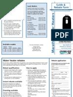 Water Heater Rebate Form Web