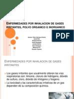enfermedadesporinhalaciondegasesirritantespolvoorganicoeinorganico-121011204235-phpapp02