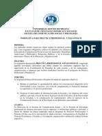 Normas Pasantias II 2013 1