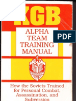 KGB - Alpha Team Training Manual - 1993