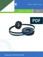 Chapter 11 - V- Belts and v- Belt Pulleys