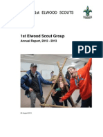 1st Elwood Scout Group 2012-13 Annual Report