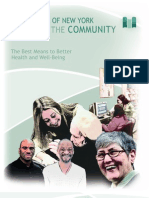 Village Care of New York's Report to The Community