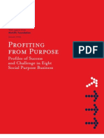 Profiting From Purpose