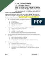 API 578 Study material