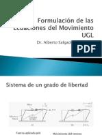 Formulación de las Ecuaciones del Movimiento UGL