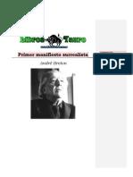 André Breton, Primer Manifiesto Surrealista.