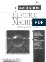 Dynamic Simulations of Electric Machinery