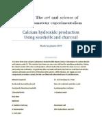Calcium Hydroxide Production