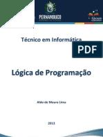 Caderno Informática (Lógica de Programação) RDDI