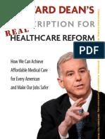 Howard Dean's Prescription for Real Healthcare Reform (Book Preview)