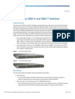 Cisco Nexus 3064-X and 3064-T Switches Data Sheet