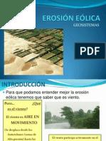 EROSIÓN EÓLICA- geosistemas
