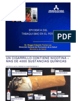 3_epidemia Tabaquismo Peru_Dr Rogger Torres